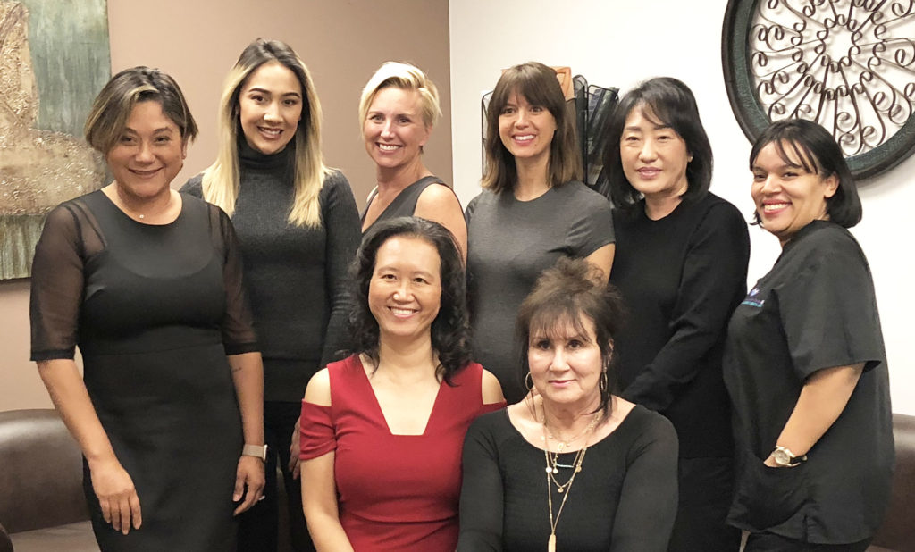 holistic cardiologist Dr Cynthia and her team